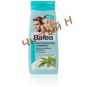 Balea Anti Schuppen Shampoo Wasserminze&Bambus ,Шампунь от перхоти унисекс 300 ml