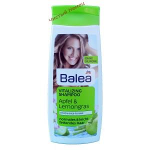 Balea Vitalizing Lemongras & Grüne Minze Шампунь для нормальных и склонных к жирности волос 300 мл.Германия