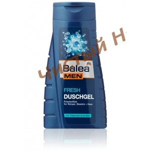 Balea Dushgel Man Fresh,Гель для душа  300 ml.Германия