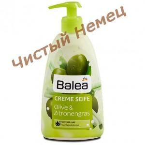 Balea  жидкое крем-мыло Olive & Zitronengras (500 ml.) Германия