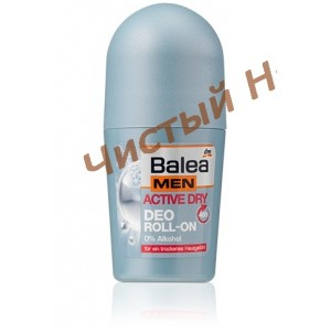 Дезодорант Balea Men active dry Deo Roll-on 50ml