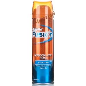 Gillette Fusion Proglide Hydrating,Гель для бритья увлажняющий  (200 мл.)
