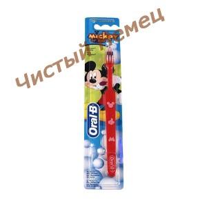 Oral-b детская зубная щетка Mickey of kids (1 шт)