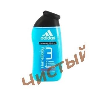 Adidas Hair&Body,Мужской гель для душа и шампунь  250 мл