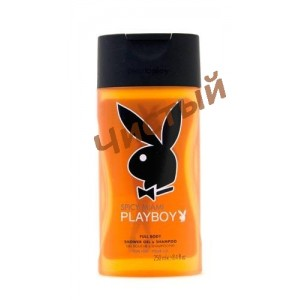 Playboy  Spicy Miami,Шампунь-гель для душа 250 мл