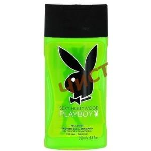 Playboy SEXY HOLLYWOOD,Парфюмированный гель для душа и шампунь  250 мл