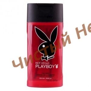 Playboy HOT VEGAS,Шампунь- гель для душа  250 мл