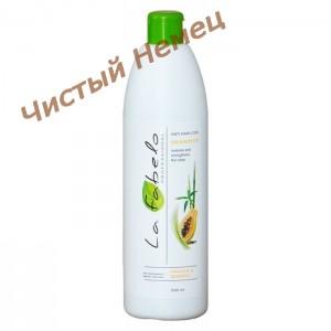 LA FABELO Professional,Шампунь против выпадения волос с экстрактом морских водорослей,папайей и  розмарином (500 ml.)Италия