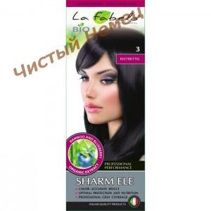 La Fabelo Professional ,Крем-краска для волос био 3 тон (50 мл ) Италия