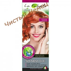 La Fabelo крем-краска для волос био Professional 7.44 тон (50 мл) Италия