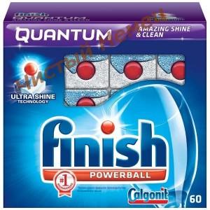 Таблетки для посудомоечных машины Finish Quantum 60шт
