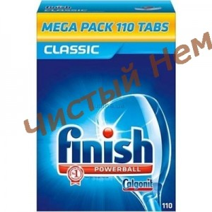 Finish Таблетки для посудомоечных машины Classic 110 шт
