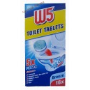 W5 таблетки для чистки унитаза  WC-Tabs (16 шт) Германия