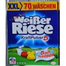 Weißer Riese Kraft Pukver - порошок  для стирки белья (Германия) 4,9 кг- 70 стирок