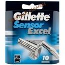 Картридж для станка Gillette Sensor Excel 10 шт