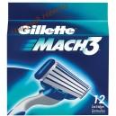 Картриджы  Gillette Mach3 (12 шт)