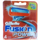 Gillette Fusion Power,Картридж (4 шт)