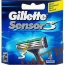 Картриджи Gillette Sensor 3  (4 шт)
