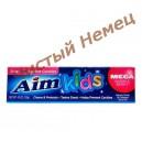 Детская зубная паста Aim Kids Mega Bubble 136g.
