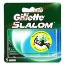 Картриджи Gillette Slalom plus  (5 шт) c чистилкой