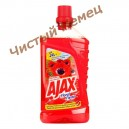 Ajax Средство для мытья пола  цветы 1л