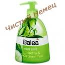"""Balea Milde Seife - мягкое жидкое мыло с дозатором """"Лайм и зеленый чай""""  300 мл (Арома)"""