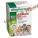 Поливитамины + минералы Altapharma A-Z Depot Multivitamin + Mineral Tabletten (100 шт.)Германия