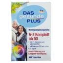 Витаминный комплекс Das gesunde Plus A-Z Depot ab 50  (100 шт.)Германия