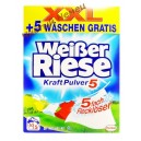 "Стиральный порошок Weißer Riese ""Kraft Pulver 5"", 3.85 кг.( 70 стирок ) Германия"