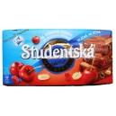 Шоколад Orion Studentska Pecet Zele a Susenymi Visnami со вкусом вишни (180 гр) Чехия