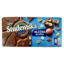 Studentska (180g) молочный шоколад с арахисом и желе Чехия