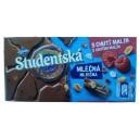 Studentska (180 гр.) шоколад со вкусом малины Чехия