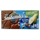 Studentska (180 гр.) молочный шоколад с грушей Чехия
