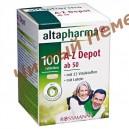 Витамины и минералы (возраст 50+)Altapharma A-Z ab 50 Depot Tabletten (100 таб.) Германия