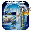 Комплект для бритья Wilkinson Sword (Schick) HYDRO 5 GROOMER 5 шт + Станок Wilkinson Sword HYDRO 5 в ПОДАРОК!Германия