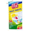 W5 таблетки для чистки унитаза Lemon (16 шт) Германия