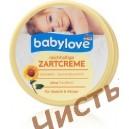 Babylove крем для лица и тела с маслом миндаля и подсолнечника Reichhaltige Zartcreme (150 ml) Германия