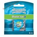 Wilkinson Sword Schick Protector 3 Сменные картриджи (4 шт) Германия