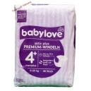 Babylove подгузники activ plus 4+ (9-20 кг) Германия