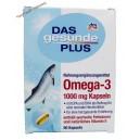 Denkmit Биологически активная добавка Das gesunde Plus Omega- 3 рыбий жир (60 капсул) Германия