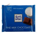 Ritter Sport шоколад (100 гр) edel Vollmilch Германия