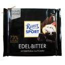 Ritter Sport Edel-Bitter Экстра чёрный шоколад 73% (100 гр) Германия