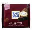 Ritter Sport Halbbitter черный шоколад 50% (100 гр) Германия