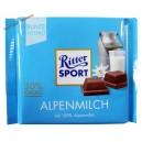 Ritter Sport, Alpen Milk Chocolate молочный шоколад (100 гр) Германия