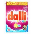 Dalli color waschmIttel стиральный порошок для цветных вещей (7.15 кг-110 стирок)Германия
