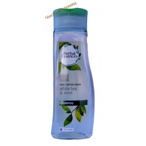 Herbal Essences шампунь против перхоти White tea & mint (400 мл) Германия
