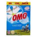 Омо Active,Универсальный порошок для стирки белого и светлого белья (5,6 кг-80 стирок) Нидерланды