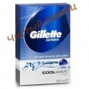 "Gillette Series лосьон после бритья Cool Wave After Shave""Свежий""(100 мл) Франция"