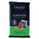 Cachet молочный шоколад с миндалем (300 гр) Бельгия