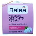 Balea дневной питательный крем mit Baumwoll-Butter (50 мл) Германия